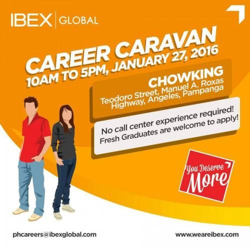ibex global career caravan